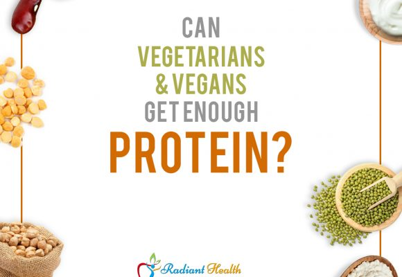 Can vegans/vegetarians get enough protein? If yes, how?